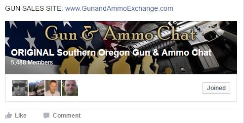 Southern Oregon Gun & Ammo Chat
