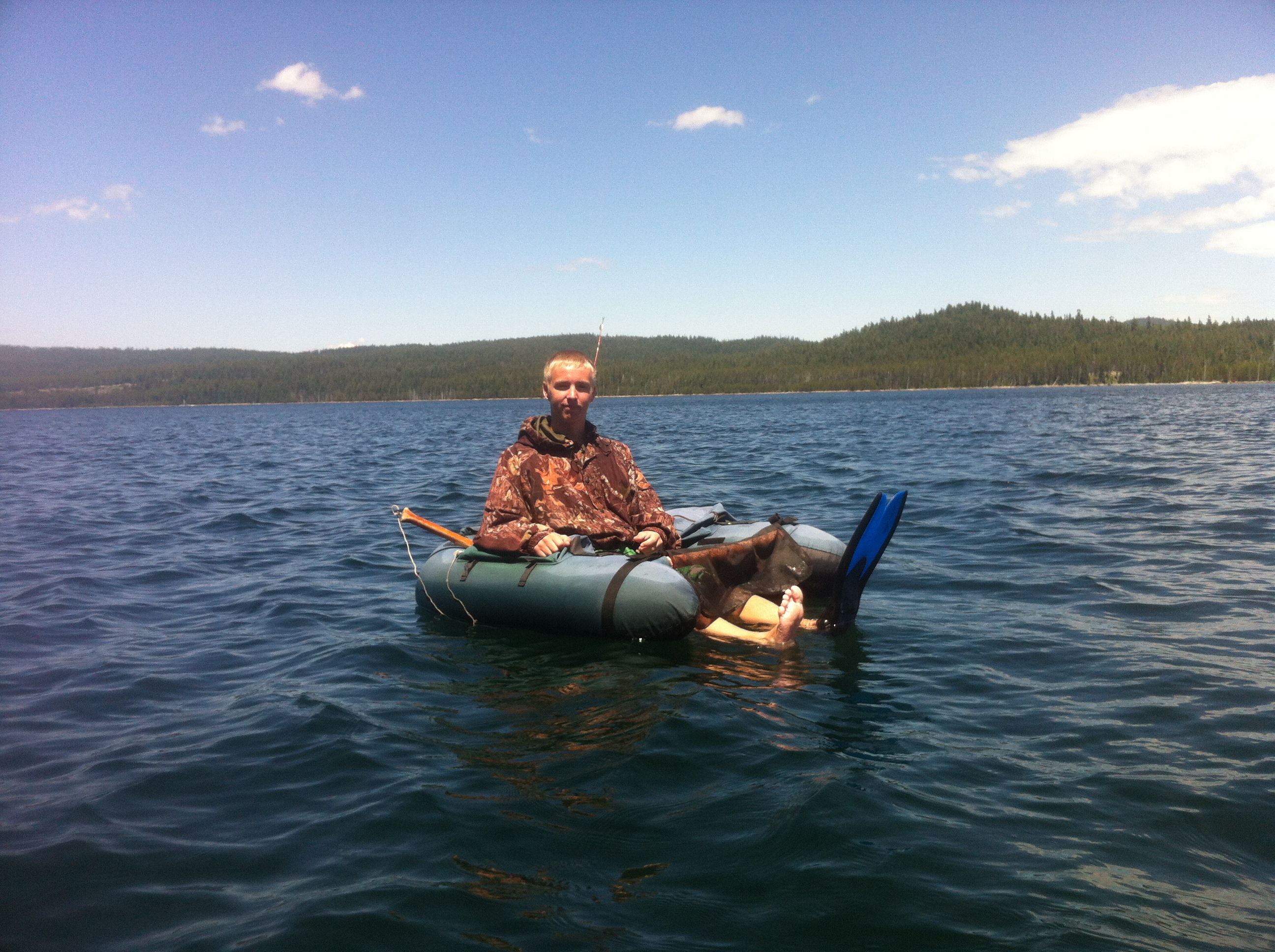 Fishing Fourmile Lake - Oregon