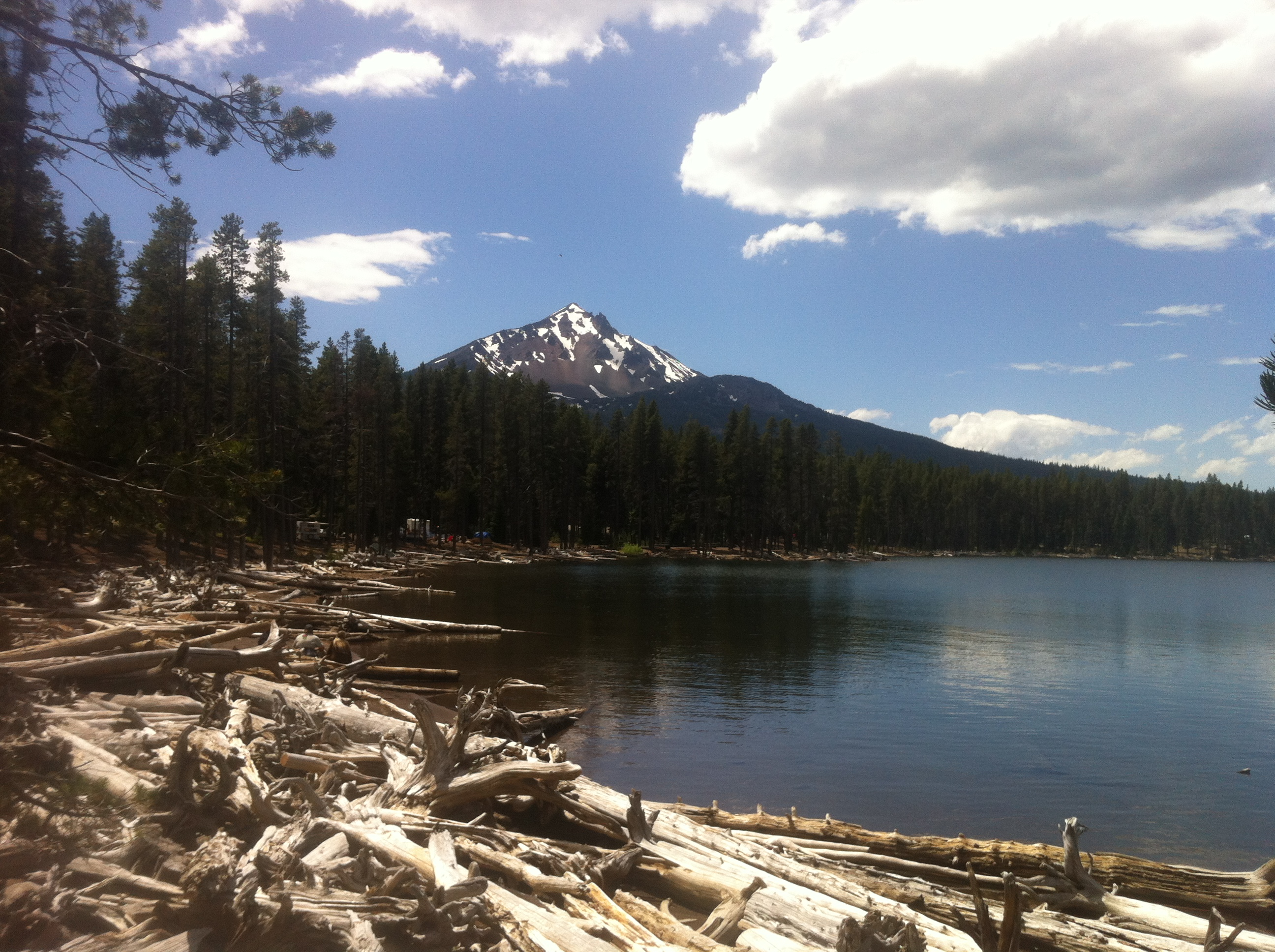 4 Mile Lake - Klamath County - fishing, camping