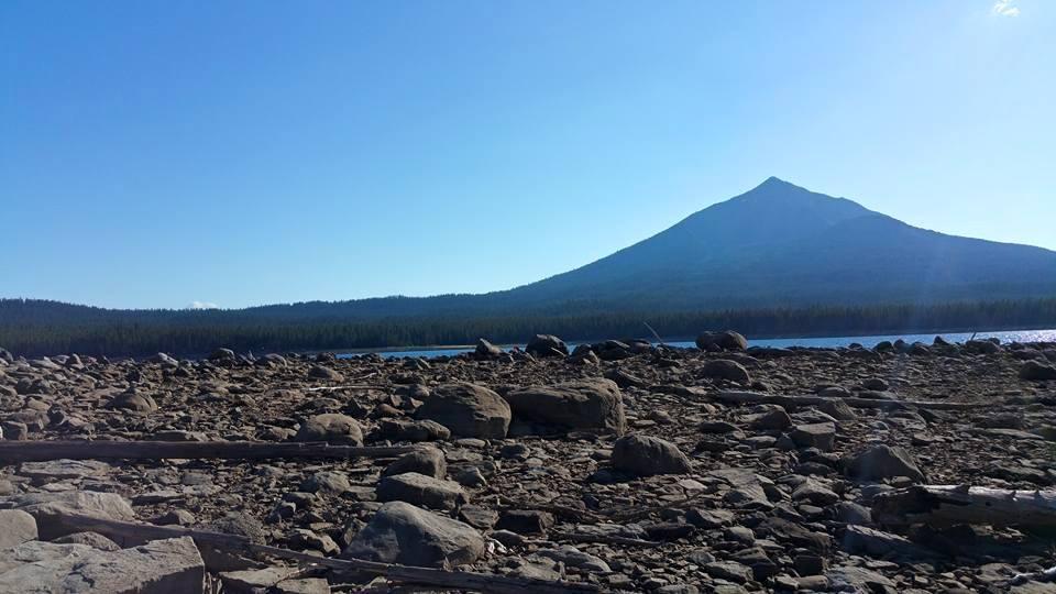 Hiking, Camping, Fishing, Fourmile Lake, Oregon