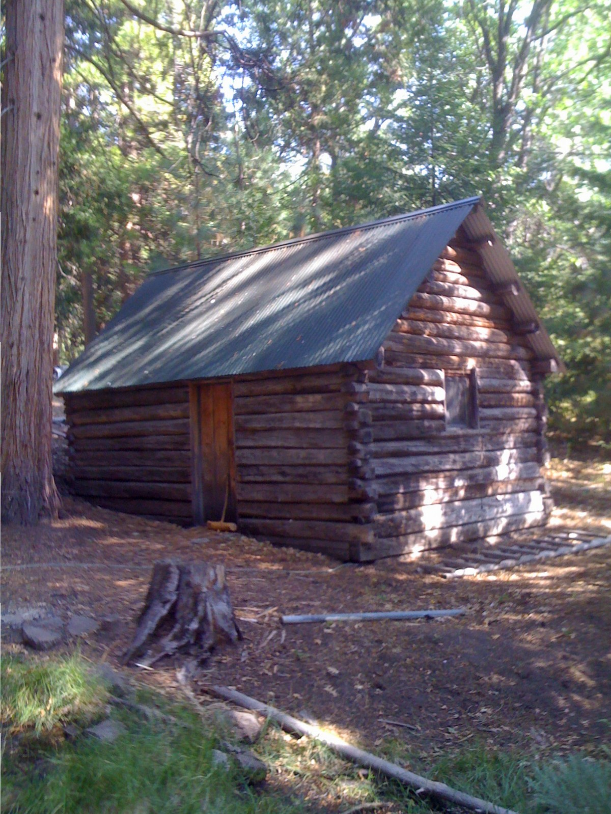 Murphy Pioneer Cabin - Soda Mountain WIlderness