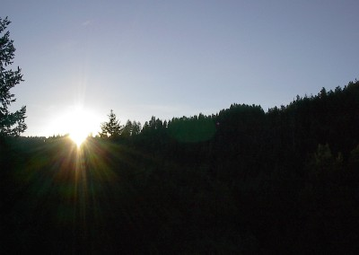 Sunrise from Pilot Rock Oregon