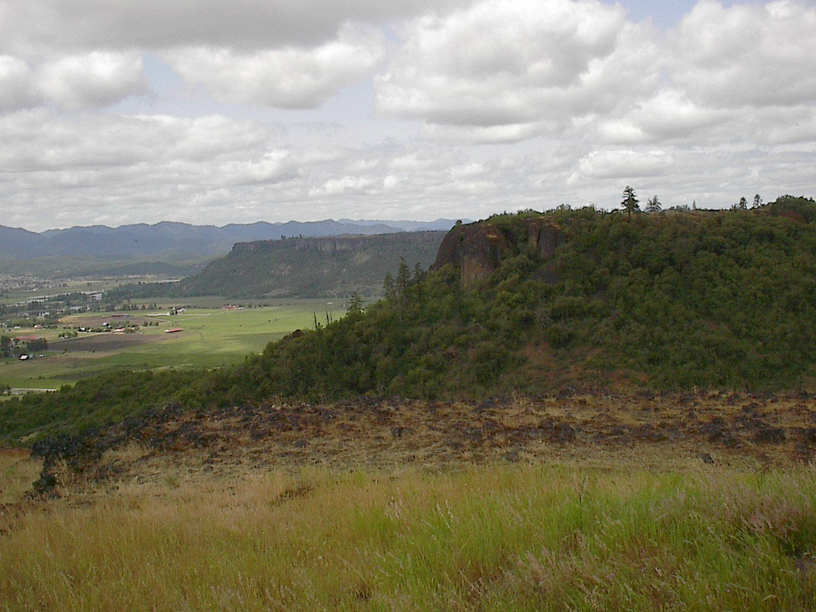 Upper Table Rock and Lower Table Rock - Oregon