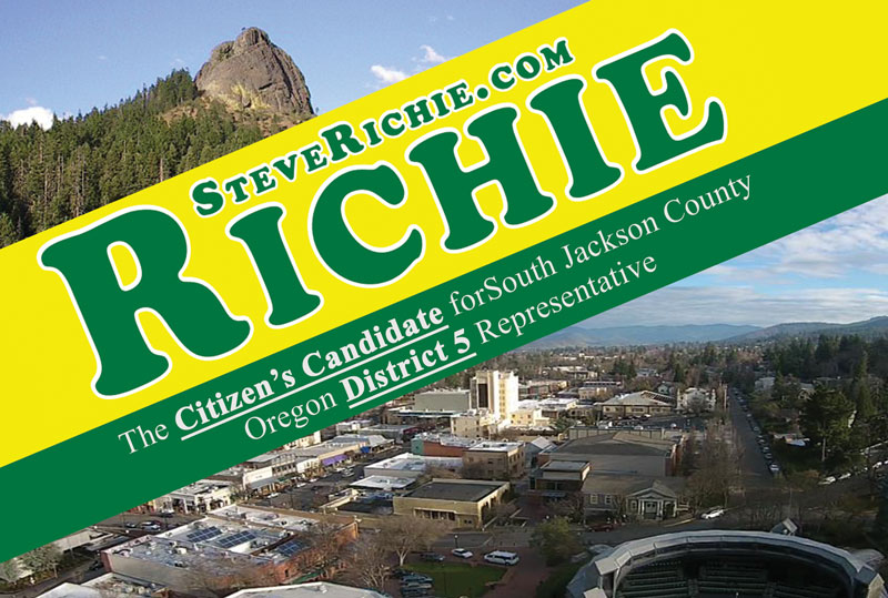 Steve Richie Opposes the Expansion of the Siskiyou-Cascade Monument